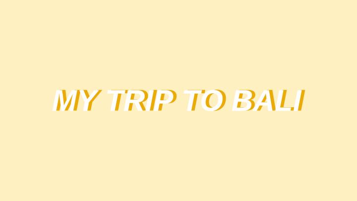 MY TRIP TOBALI