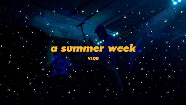 a summer week